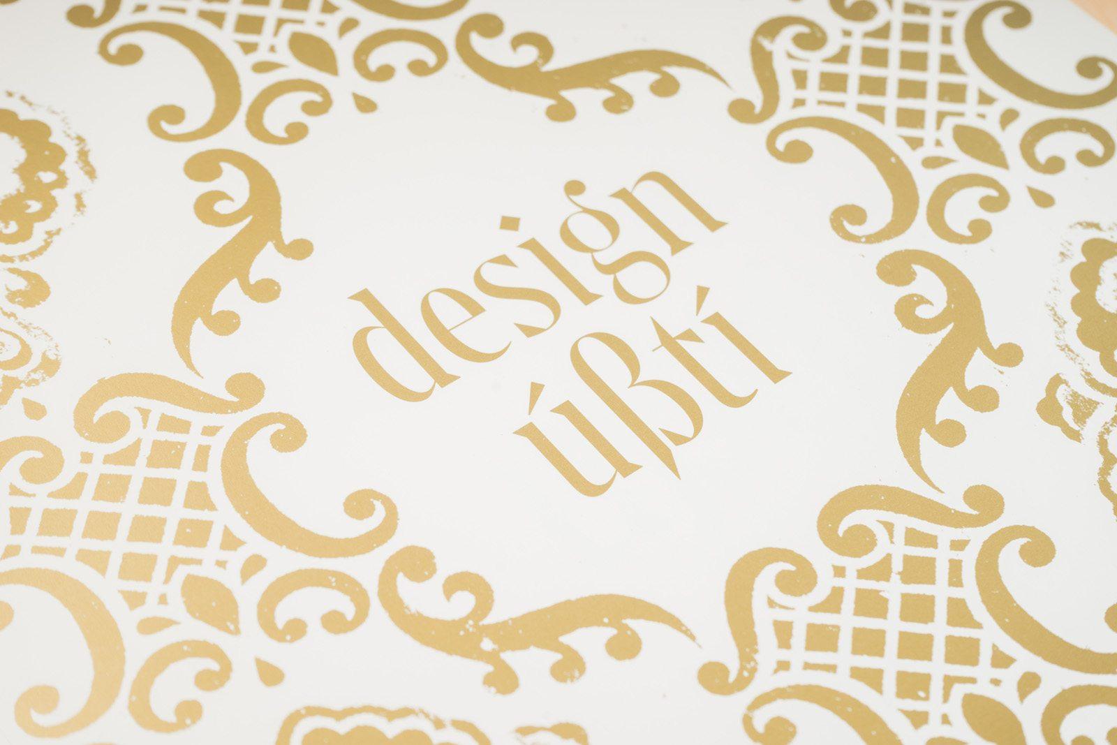 Design Ústí.  Edice FUD. Foto Jiří Dvořák
