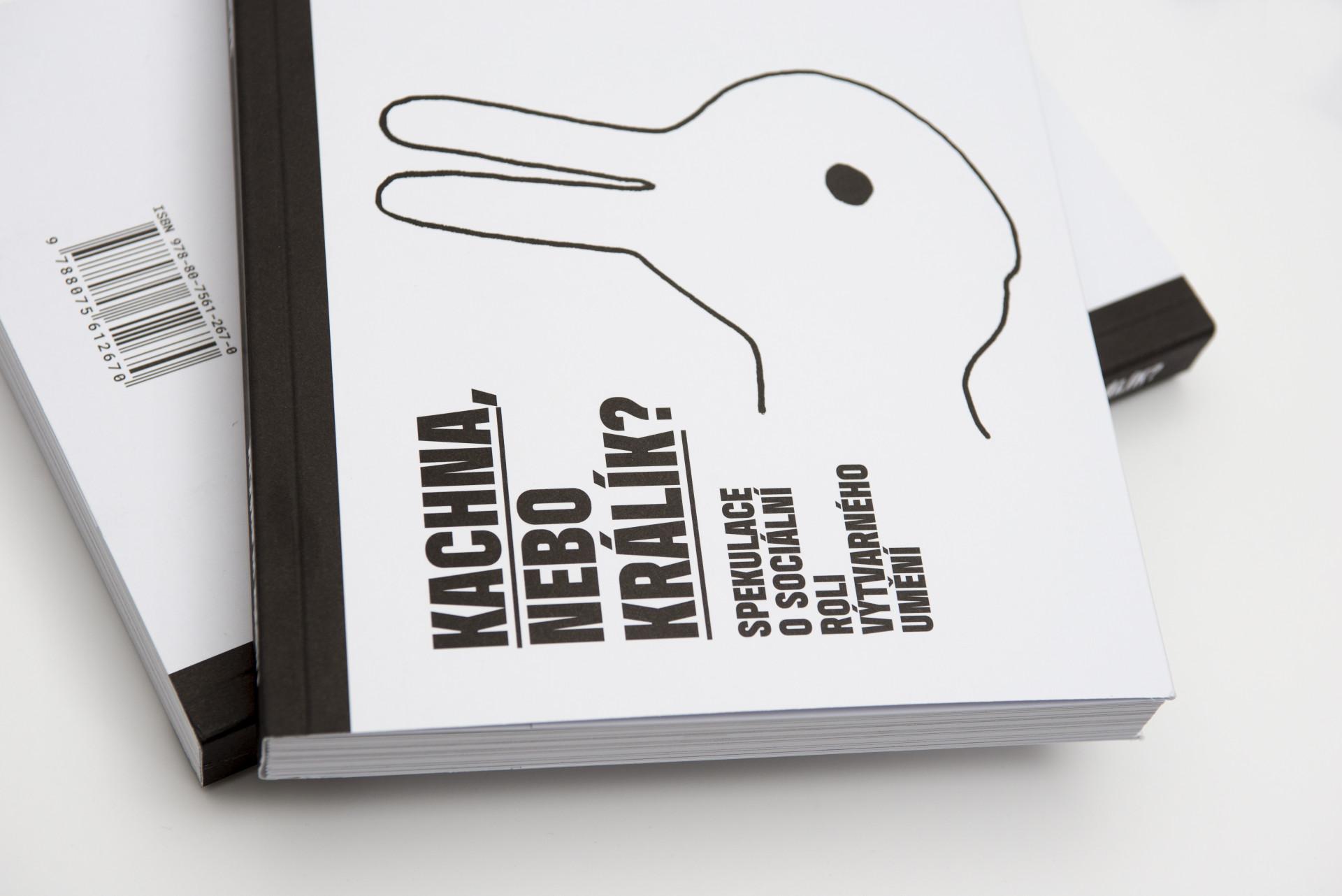 Ludvík Hlaváček. Kachna, nebo králík? Edice FUD. Foto Dany Vigil