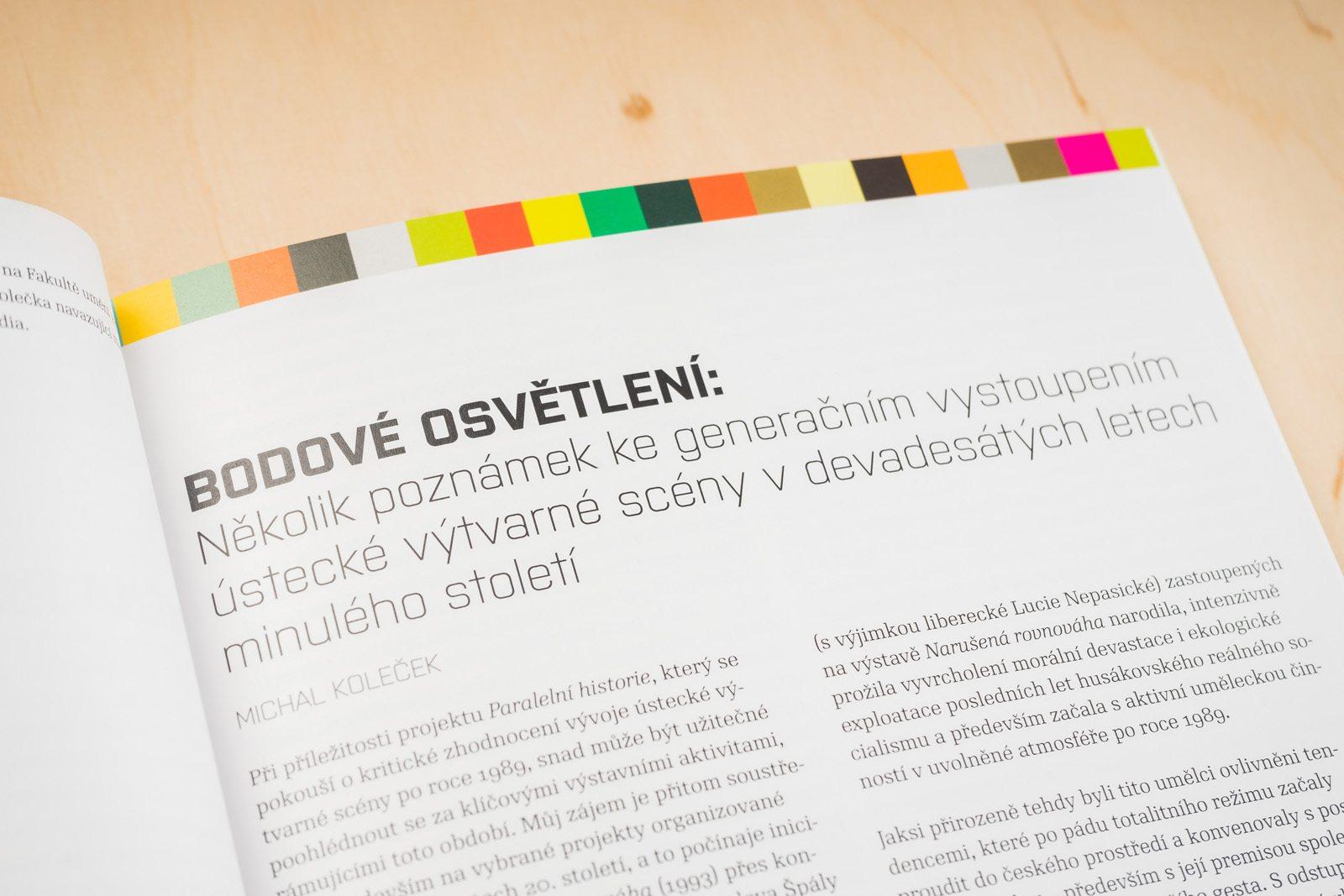 Paralelní historie. Edice FUD. Foto Jiří Dvořák