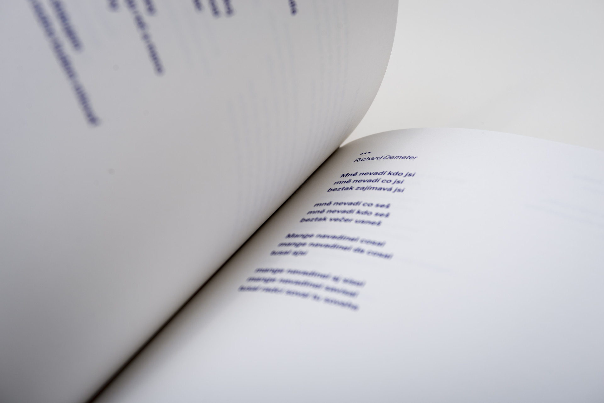 Poesia-Lita. Edice  FUD. Foto Dany Vigil