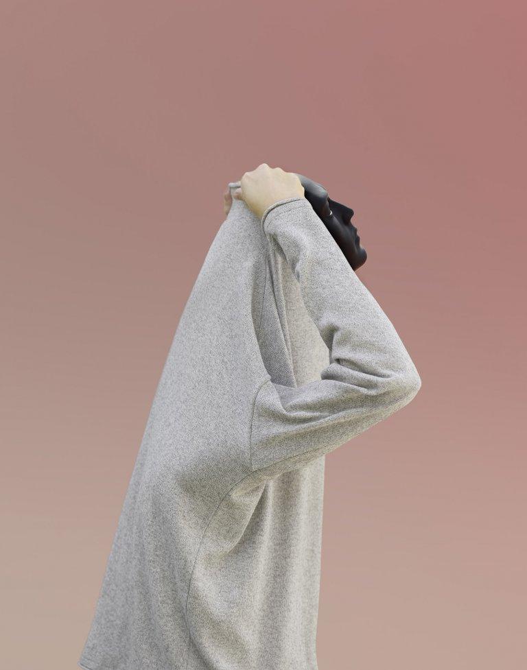 Zuzana Králová, Recycled knitwear PLETE, 2019