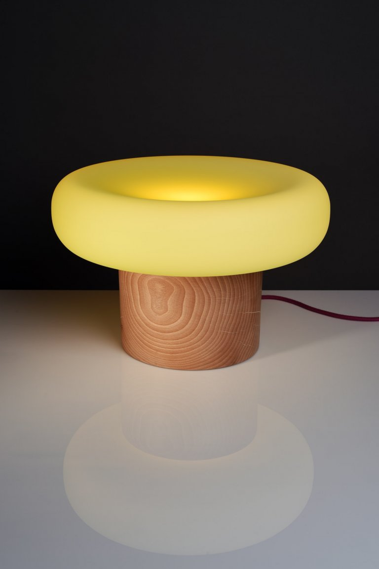 Jitka Kamencová Skuhravá, Moss lampa, 2016